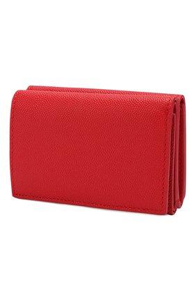 Женские кожаное портмоне BURBERRY красного цвета, арт. 8018960   Фото 2