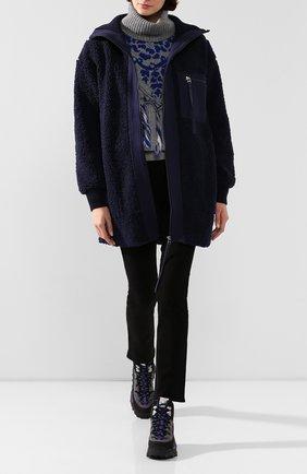 Женская куртка BY MALENE BIRGER темно-синего цвета, арт. Q67462003/CARRYL. | Фото 2
