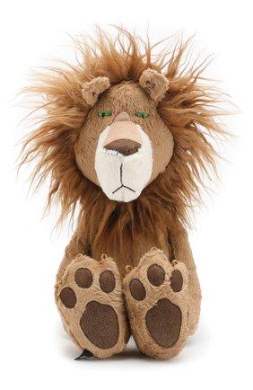 Детского игрушка храбый лев SIGIKID коричневого цвета, арт. 38715 | Фото 1