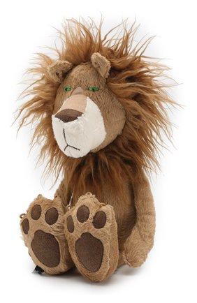 Детского игрушка храбый лев SIGIKID коричневого цвета, арт. 38715 | Фото 2