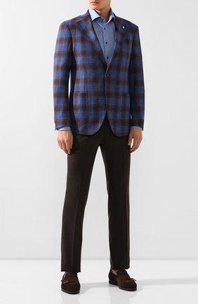 Мужская хлопковая сорочка VAN LAACK голубого цвета, арт. TIVARA2-PSF/156379   Фото 2