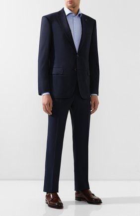 Мужская хлопковая сорочка VAN LAACK голубого цвета, арт. RIVARA-LSFN/150046   Фото 2