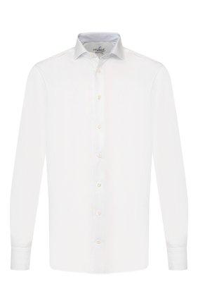 Мужская хлопковая сорочка VAN LAACK белого цвета, арт. RAND0-TF05N/132241 | Фото 1