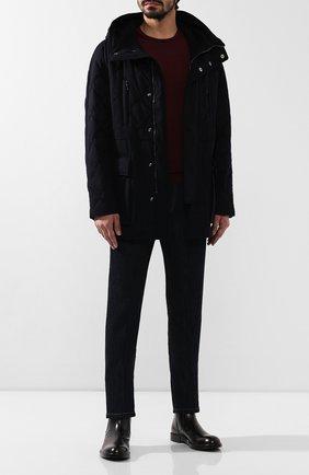 Мужская кашемировая куртка GIORGIO ARMANI темно-синего цвета, арт. 9WG0B02T/T00J0 | Фото 2
