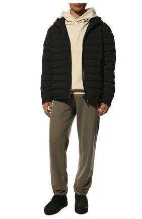 Мужские замшевые сапоги VIC MATIE черного цвета, арт. 1V7614U.V02CSYB001 | Фото 2