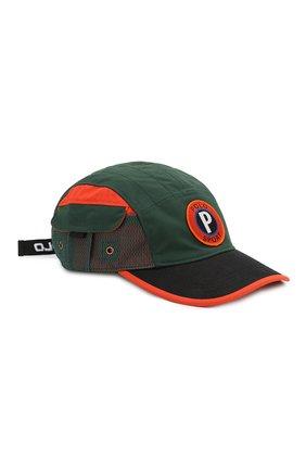 Мужской бейсболка outdoors POLO RALPH LAUREN темно-зеленого цвета, арт. 710767320 | Фото 1