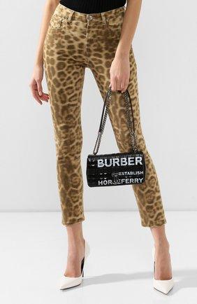 Женская сумка lola small BURBERRY черного цвета, арт. 8021619   Фото 2