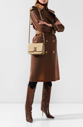 Женская сумка tb small BURBERRY бежевого цвета, арт. 8020641   Фото 2 (Материал: Натуральная кожа; Ремень/цепочка: На ремешке; Размер: small; Сумки-технические: Сумки через плечо; Статус проверки: Проверена категория)