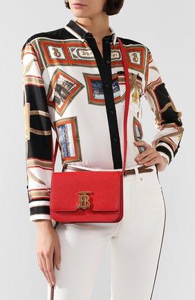 Женская сумка tb small BURBERRY красного цвета, арт. 8019339   Фото 2