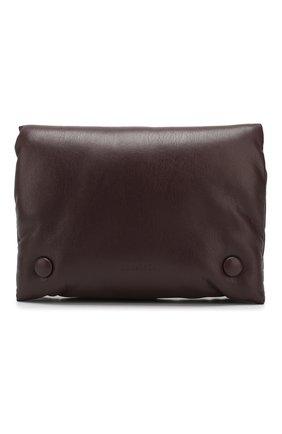 Женская поясная сумка tao NANUSHKA бордового цвета, арт. TA0 BELT_AUBERGINE_VEGAN NAPPA | Фото 1