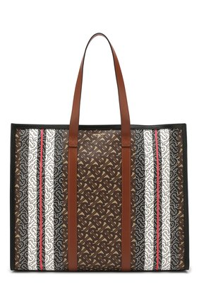 Женский сумка-тоут tb BURBERRY коричневого цвета, арт. 8021488 | Фото 1