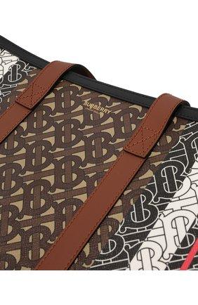 Женский сумка-тоут tb BURBERRY коричневого цвета, арт. 8021488 | Фото 2