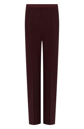 Женские брюки со стрелками MAISON MARGIELA бордового цвета, арт. S51KA0446/S49645 | Фото 1