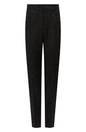 Женские брюки DOLCE & GABBANA черного цвета, арт. FTAM2T/FJRDJ | Фото 1