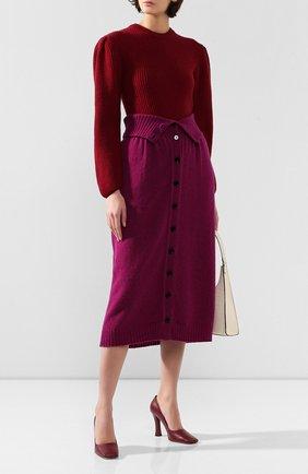 Женская шерстяной свитер LEMAIRE фуксия цвета, арт. W 193 KN412 LK085 | Фото 2