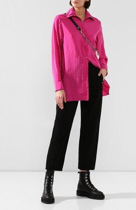 Женские джинсы LEMAIRE черного цвета, арт. W 193 PA220 LD034 | Фото 2