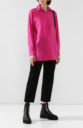 Женская рубашка LEMAIRE фуксия цвета, арт. W 193 SH248 LF208 | Фото 2