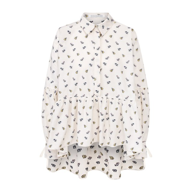 Хлопковая блузка Cecilie Bahnsen
