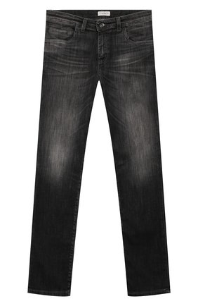 Детские джинсы PAOLO PECORA MILANO черного цвета, арт. PP1941/6Y-12Y | Фото 1