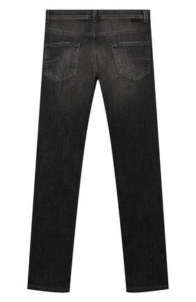 Детские джинсы PAOLO PECORA MILANO черного цвета, арт. PP1941/6Y-12Y | Фото 2