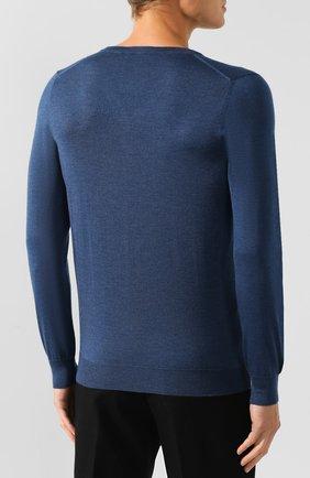 Пуловер из смеси кашемира и шелка   Фото №4