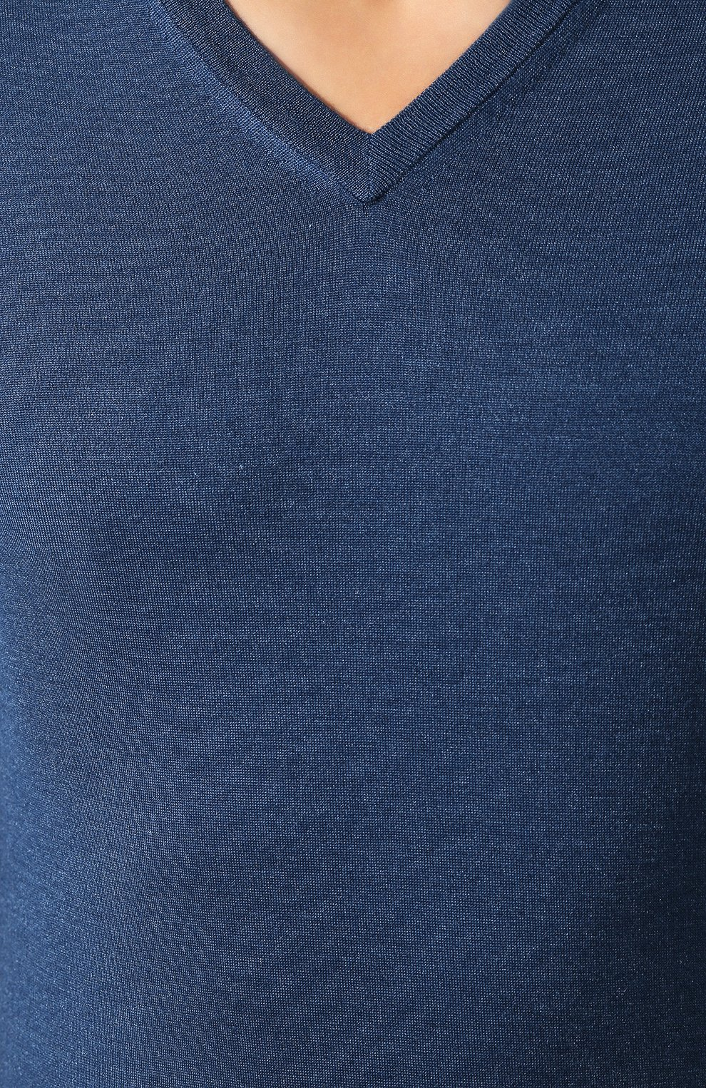Пуловер из смеси кашемира и шелка   Фото №5