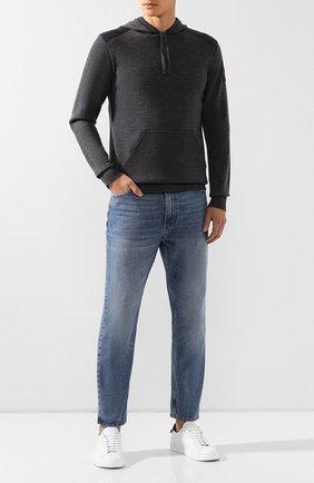 Мужской шерстяное худи CANADA GOOSE серого цвета, арт. 7000M | Фото 2