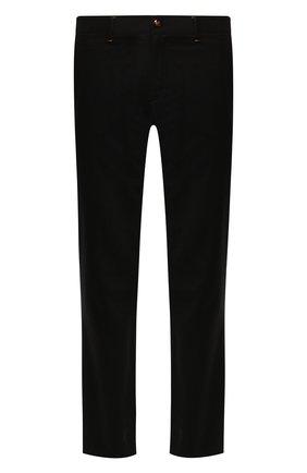 Мужской брюки из смеси шерсти и кашемира ZILLI черного цвета, арт. M0S-D0303-LACH1/R001 | Фото 1