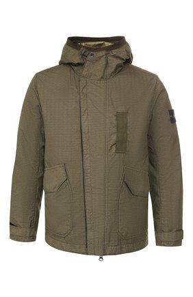 Мужская куртка STONE ISLAND хаки цвета, арт. 711543999 | Фото 1