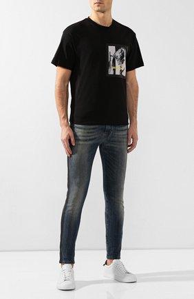 Мужская хлопковая футболка RELIGION черного цвета, арт. 39EFRG95 | Фото 2