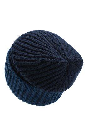 Мужская кашемировая шапка LORO PIANA темно-синего цвета, арт. FAI8797 | Фото 2