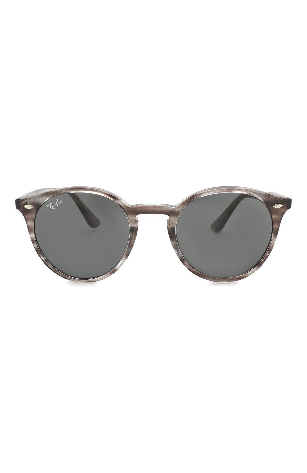 Женские солнцезащитные очки RAY-BAN серого цвета, арт. 2180-643087 | Фото 4