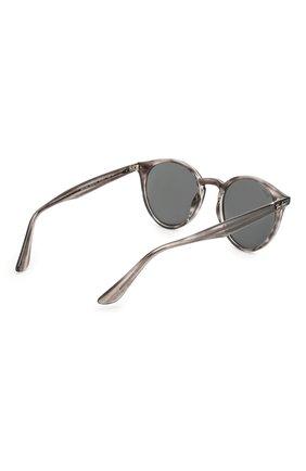 Женские солнцезащитные очки RAY-BAN серого цвета, арт. 2180-643087 | Фото 5