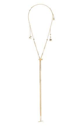 Женская цепь femininities для солнцезащитных очков  CHLOÉ золотого цвета, арт. CHC18AF003CB79DA   Фото 1