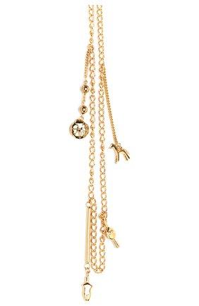 Женская цепь femininities для солнцезащитных очков  CHLOÉ золотого цвета, арт. CHC18AF003CB79DA   Фото 2