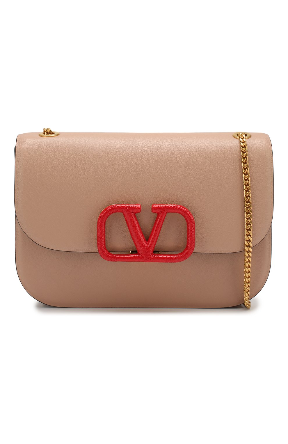 Женская сумка valentino garavani vlock small VALENTINO бежевого цвета, арт. SW0B0F21/JEA | Фото 6