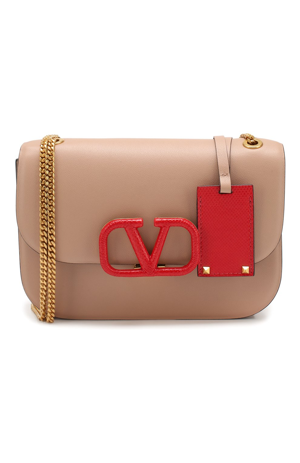Женская сумка valentino garavani vlock small VALENTINO бежевого цвета, арт. SW0B0F21/JEA | Фото 7