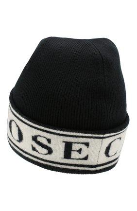 Женский шерстяная шапка CANADA GOOSE черного цвета, арт. 5511L | Фото 2