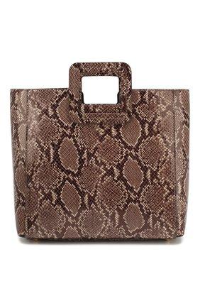 Женская сумка shirley STAUD серого цвета, арт. 159-9042 | Фото 1