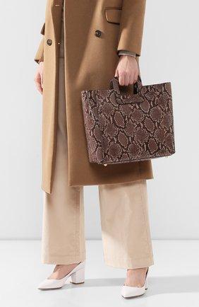 Женская сумка shirley STAUD серого цвета, арт. 159-9042 | Фото 2