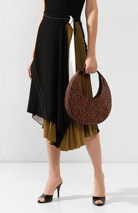 Женская сумка moon STAUD коричневого цвета, арт. 159-9166 | Фото 2