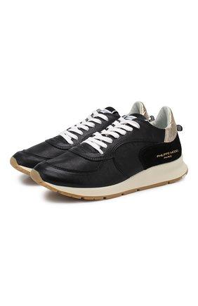 Кожаные кроссовки Montecarlo | Фото №1