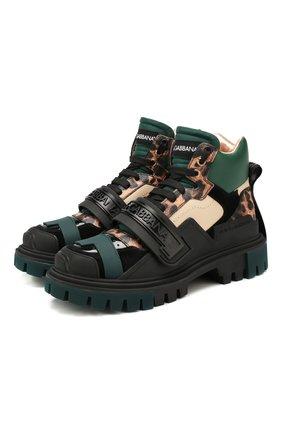 Комбинированные ботинки Trekking   Фото №1