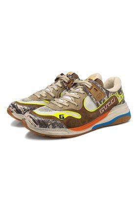 Комбинированные кроссовки Ultrapace | Фото №1