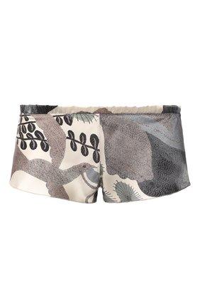 Женские шелковые шорты CARINE GILSON разноцветного цвета, арт. NV0768-V W19 | Фото 1