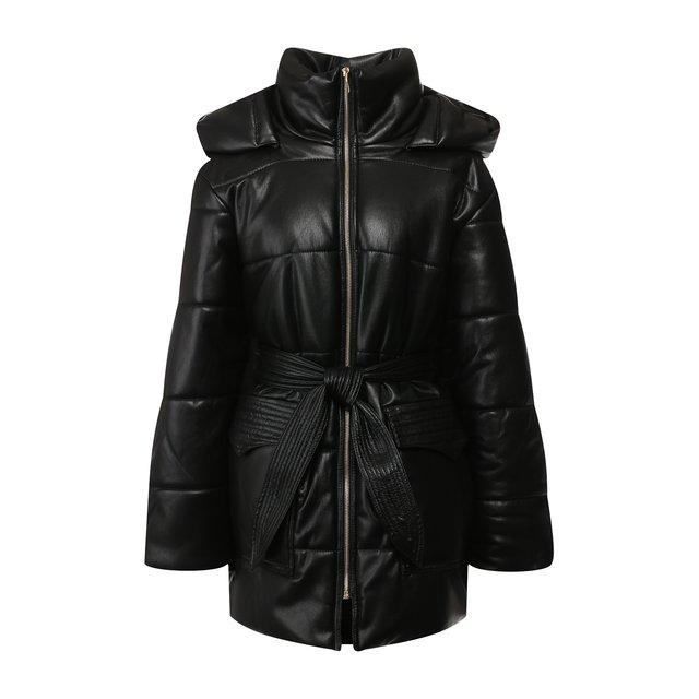 Утепленная куртка с поясом Nanushka