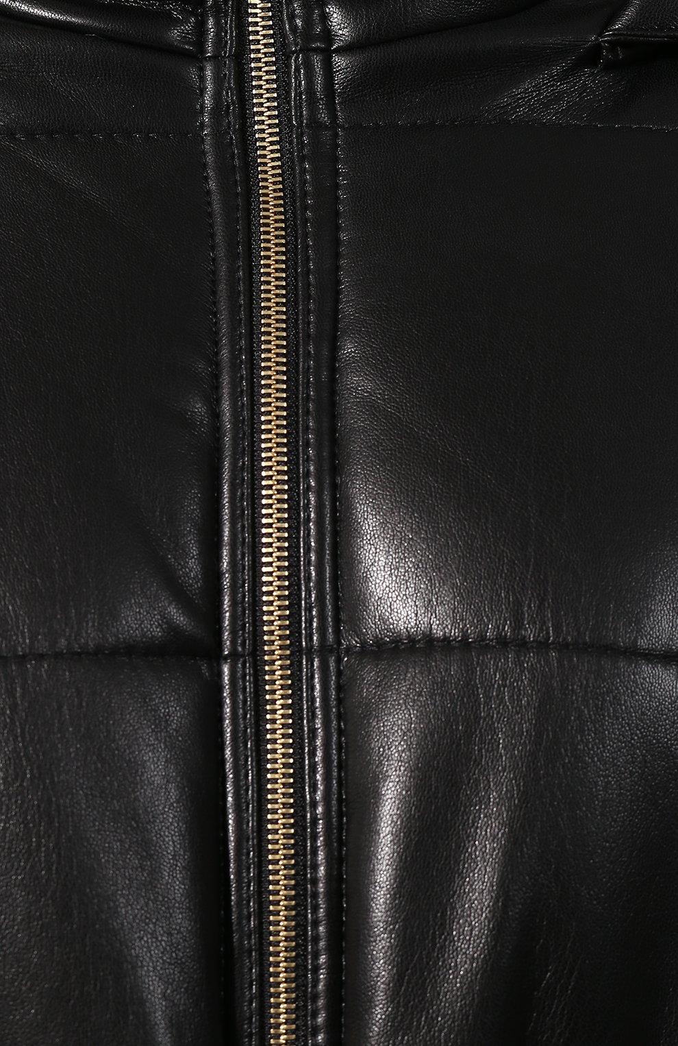 Утепленная куртка с поясом | Фото №5