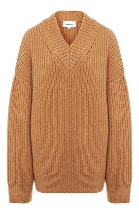 Женская шерстяной свитер NANUSHKA бежевого цвета, арт. VINCE_CAMEL_S0FT W00L RIB   Фото 1