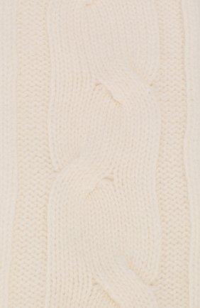 Женские кашемировые носки LORO PIANA белого цвета, арт. FAI3620 | Фото 2