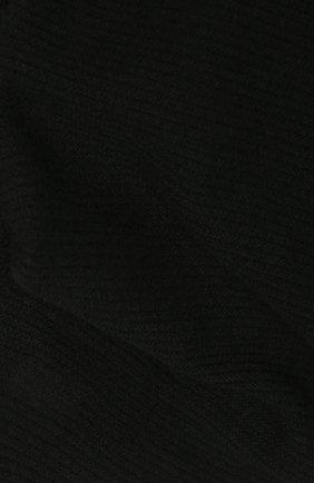 Женский кашемировый шарф-снуд TEGIN черного цвета, арт. 5233 | Фото 2